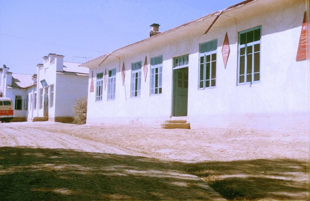 архив СССР турист Узбекистан