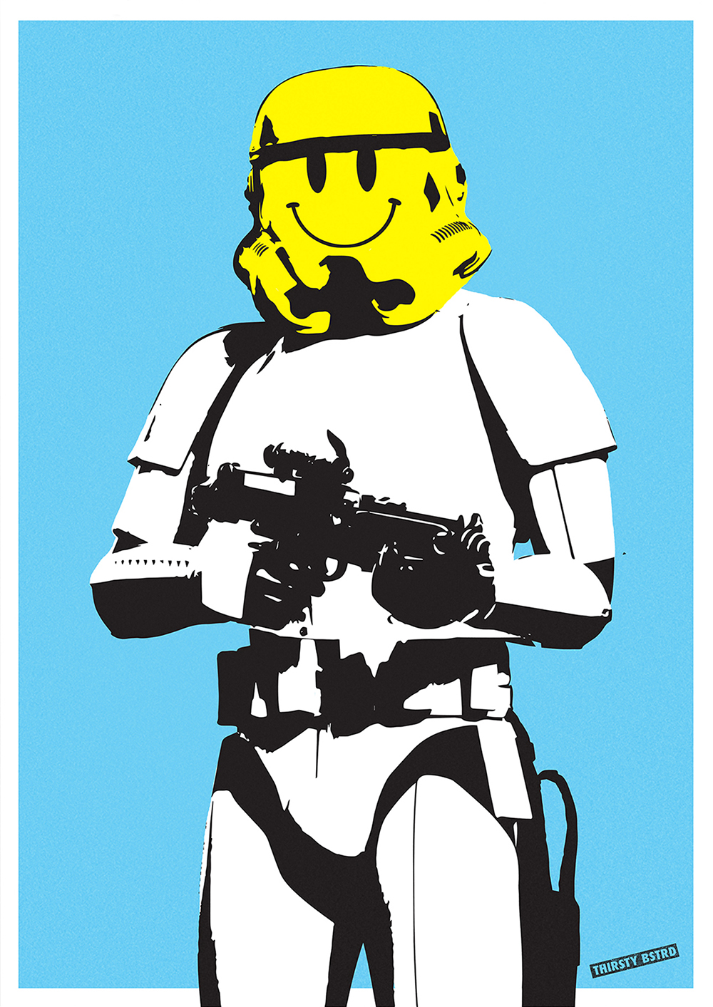 Bansky Turned into Star Wars by Thirsty Bstrd