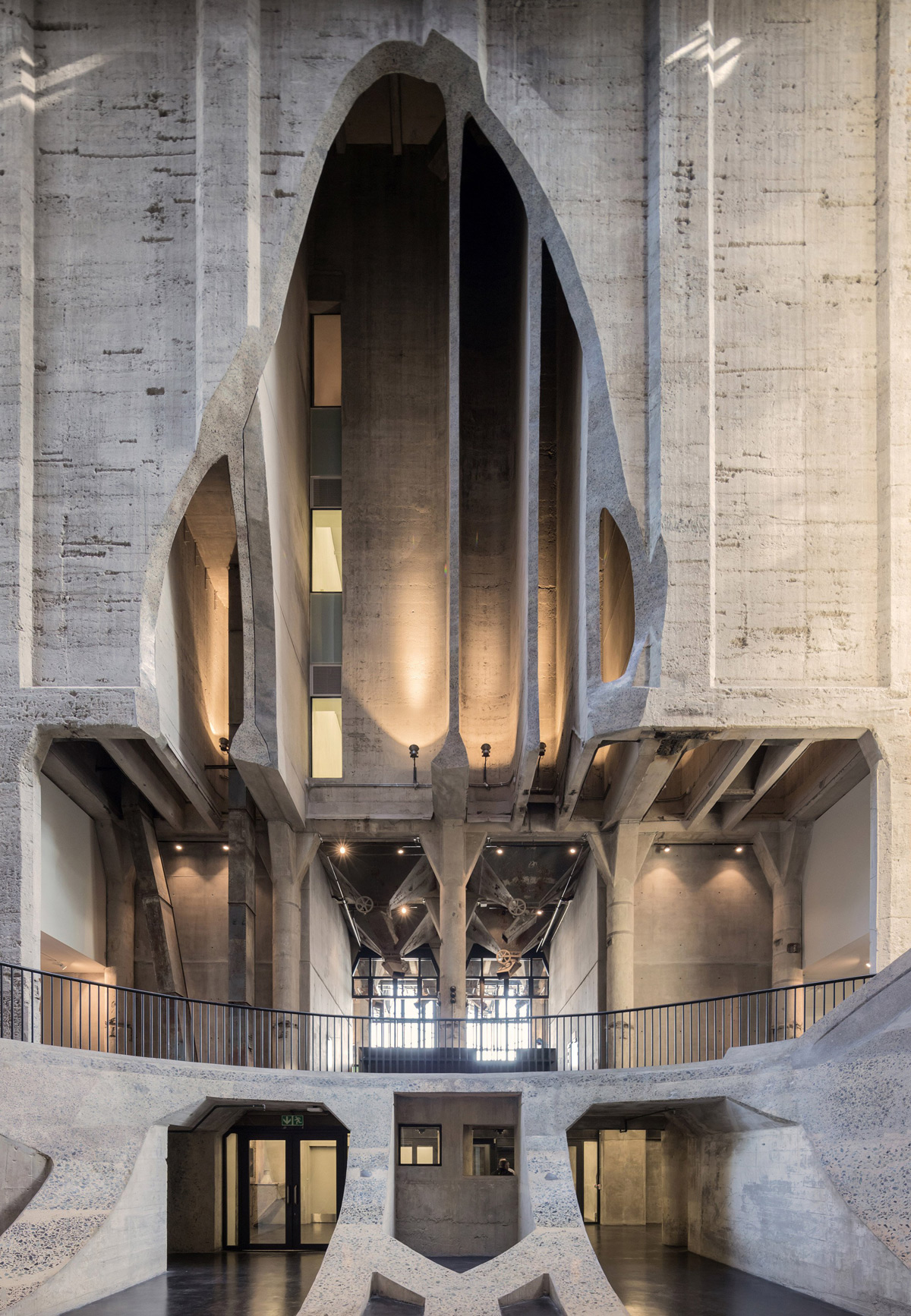 An Historic Cape Town Grain Silo Converted into 80 Cylindrical Art Galleries