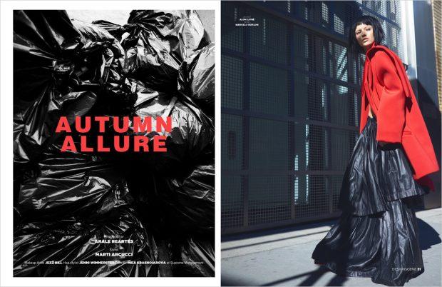 Autumn Allure by Arale Reartes for Design SCENE Magazine #19 Issue (10 pics)