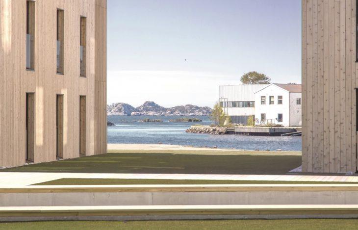 Mandal Slipway Housing Complex by Reiulf Ramstad Arkitekter