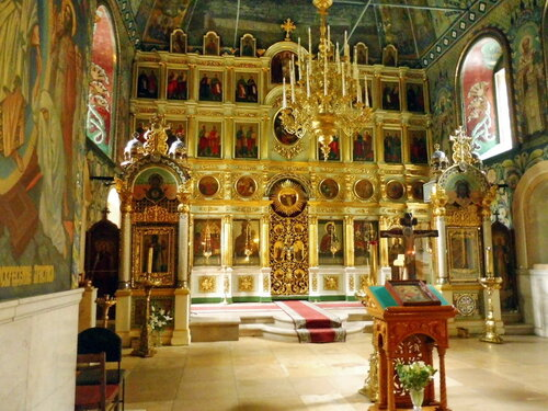 Церковь Рождества Иоанна Предтечи на Пресне. Иконостас.
