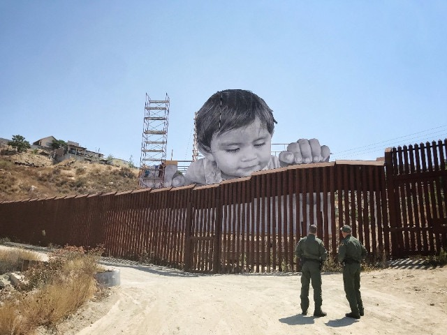 Streets: JR Installation @ US-Mexico Border Fence