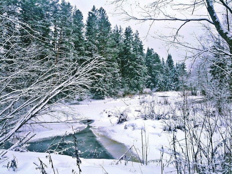 Январская речка
