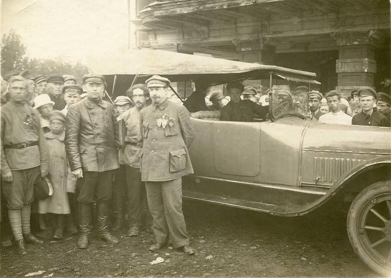 1923. Приезд А.В.Луначарского