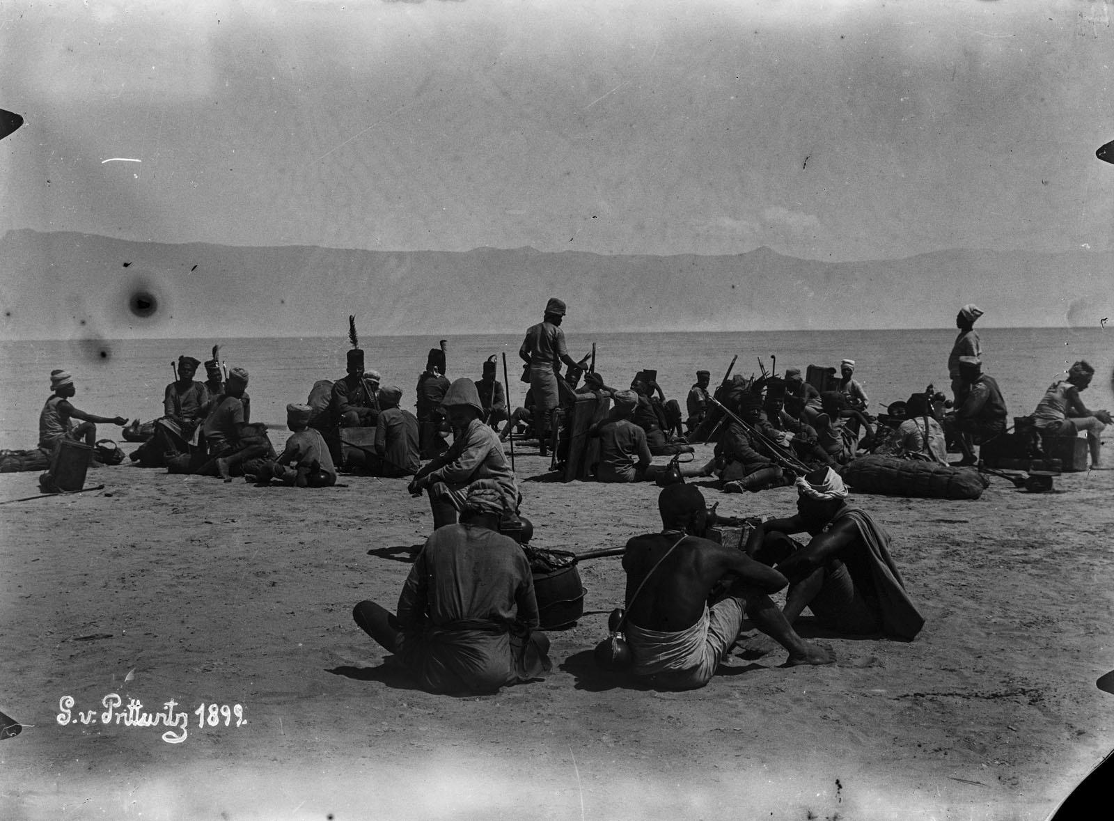 24.1899. Солдаты в Рукве