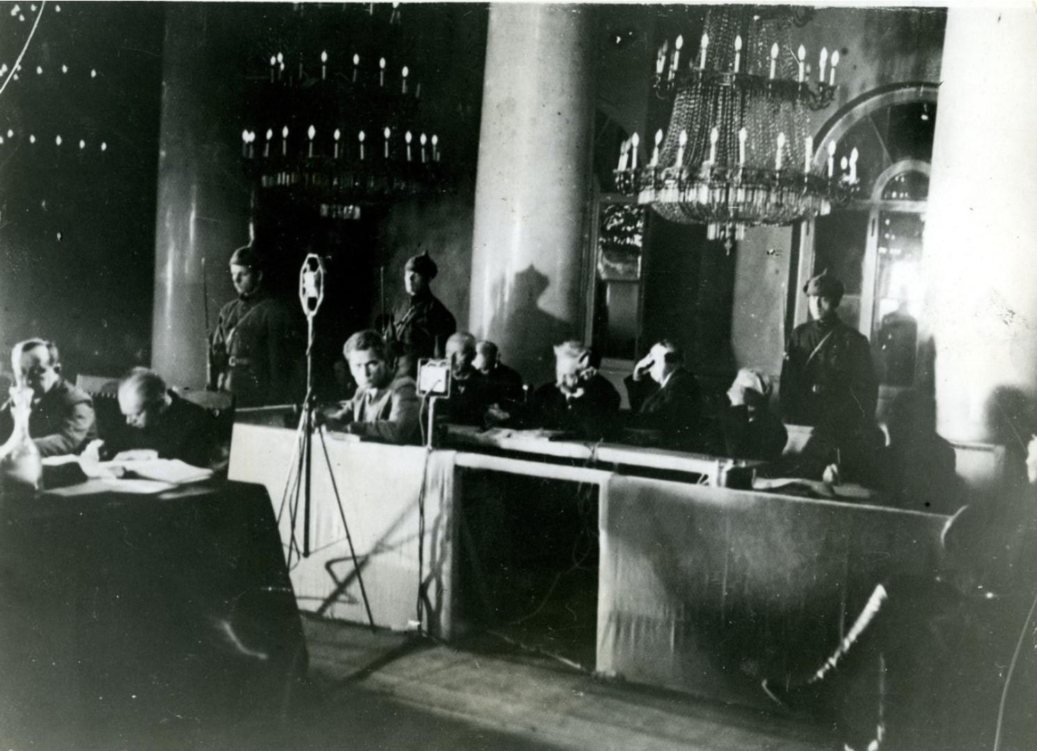 1930. Дело Промпартии. Обвиняемые