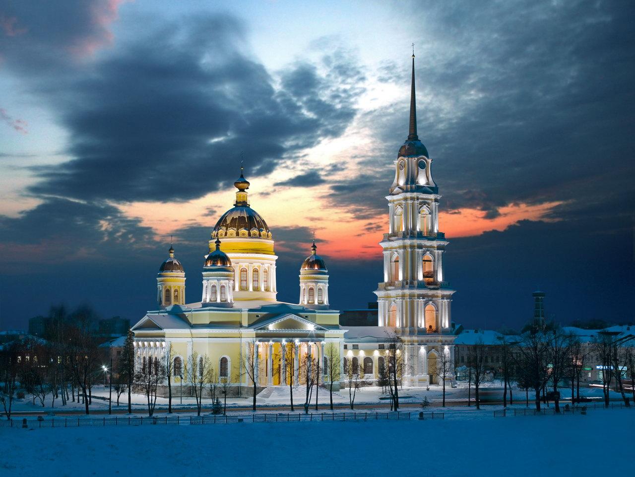 40 самых высоких православных храмов и колоколен (в мире)