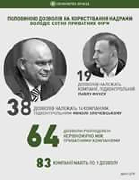Треть частных компаний, добывающих нефть и газ в Украине,
