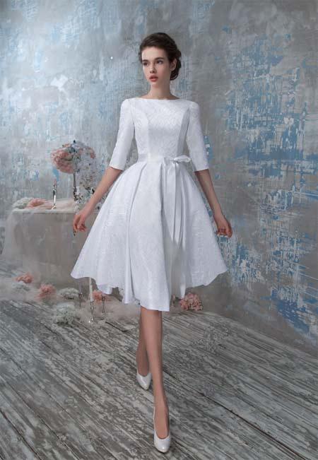Короткое свадебное платье на Nevesta.info