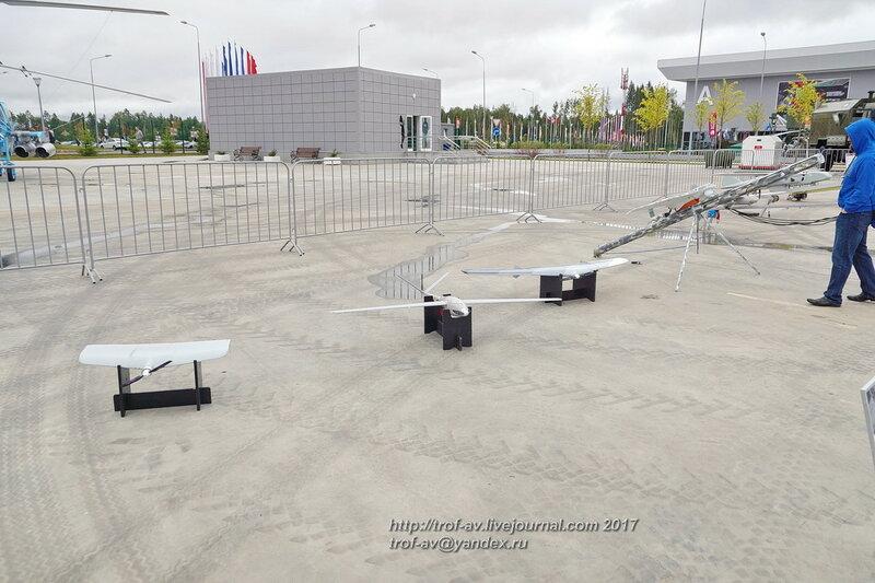 Беспилотные летательные аппараты на форуме Армия-2017 в парке Патриот