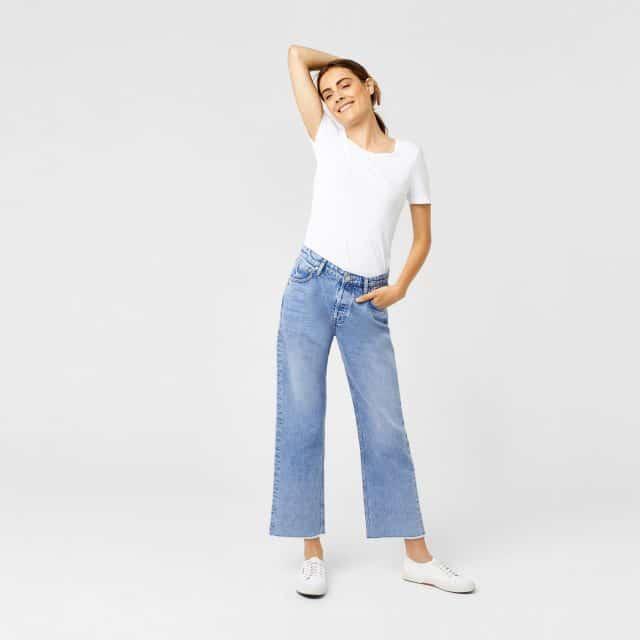 весенние наряды весна 2018 джинсы мода модные джинсы