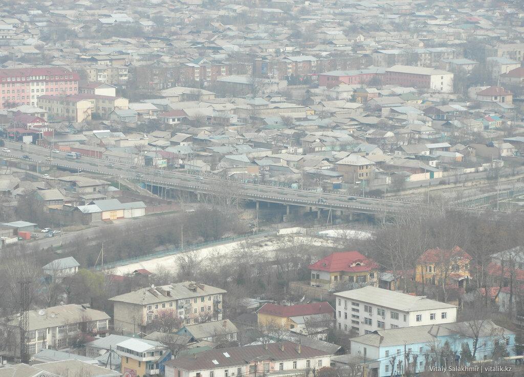Улица Абдикадирова сверху