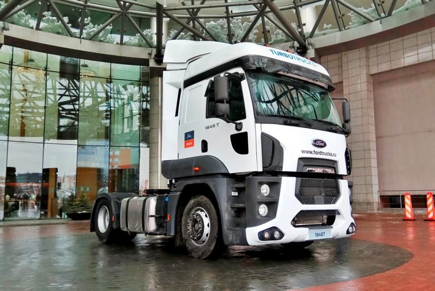 На русский рынок автомобилей выйдет новая версия фургона Форд Cargo