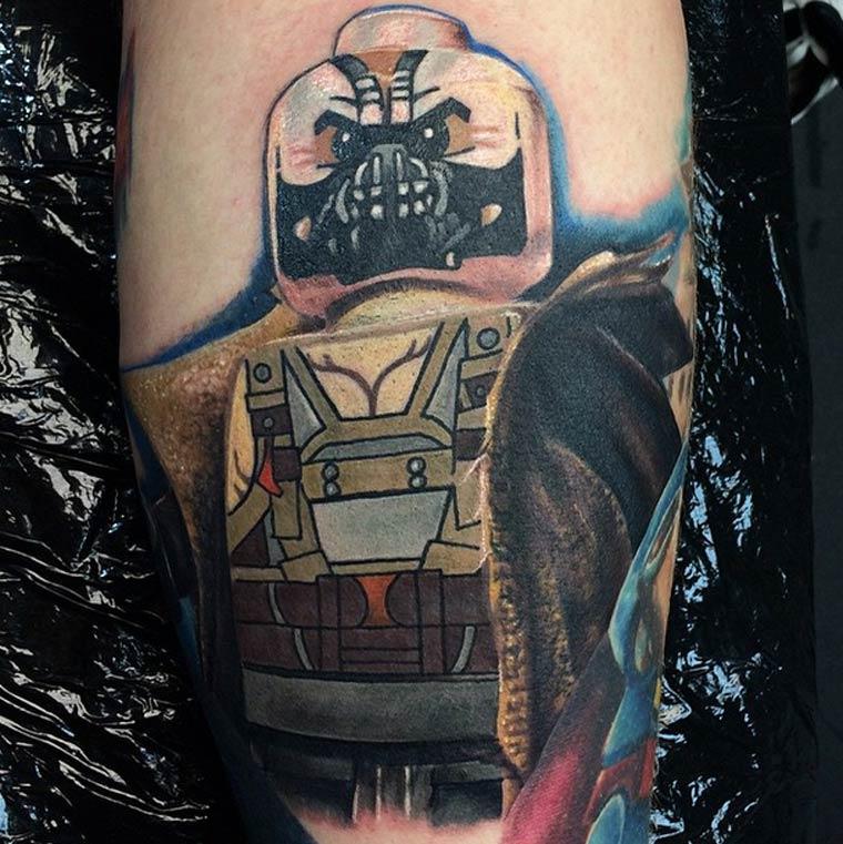 art geek universe Lego tatouage