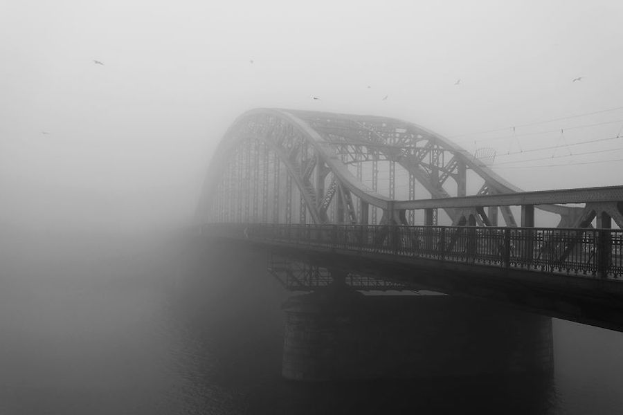 fog bridges water instagram city under water cities Poland