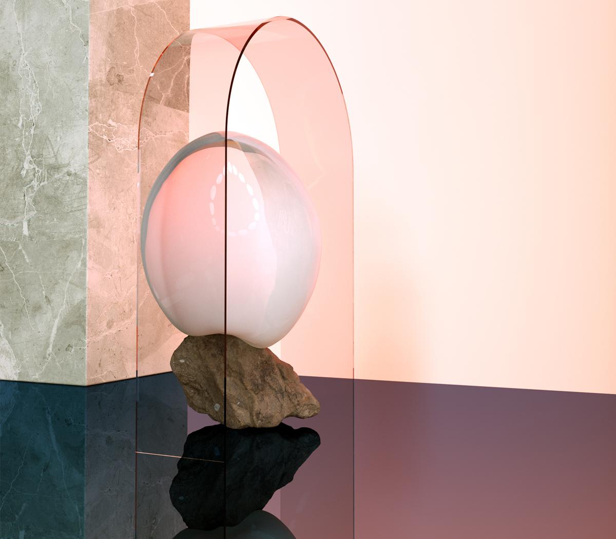 Abstract Slick 3D Sculptures