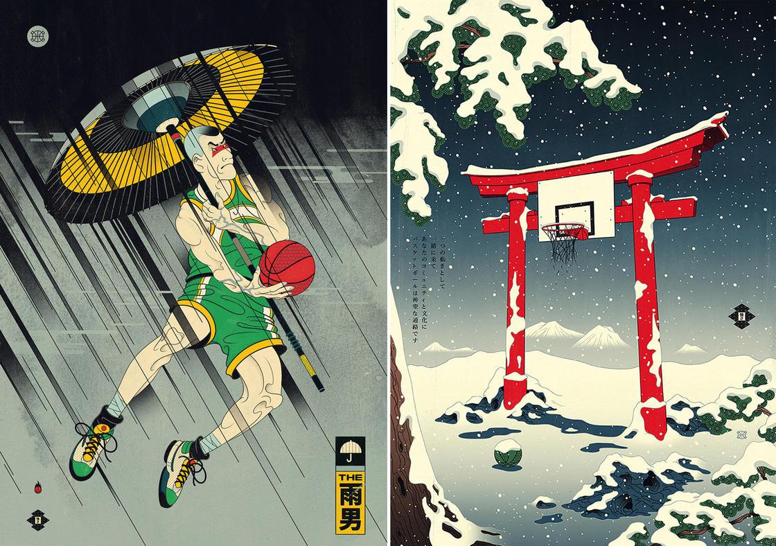 Edo Ball – Quand le Basketball rencontre le Japon medieval (20 pics)