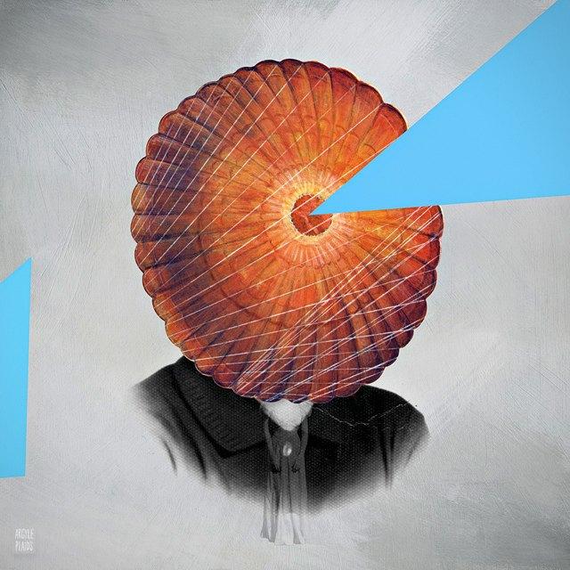 Mixed Media Art - Argyle Plaids