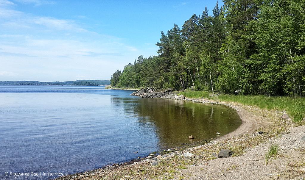 остров Котельный в Ладожском озере