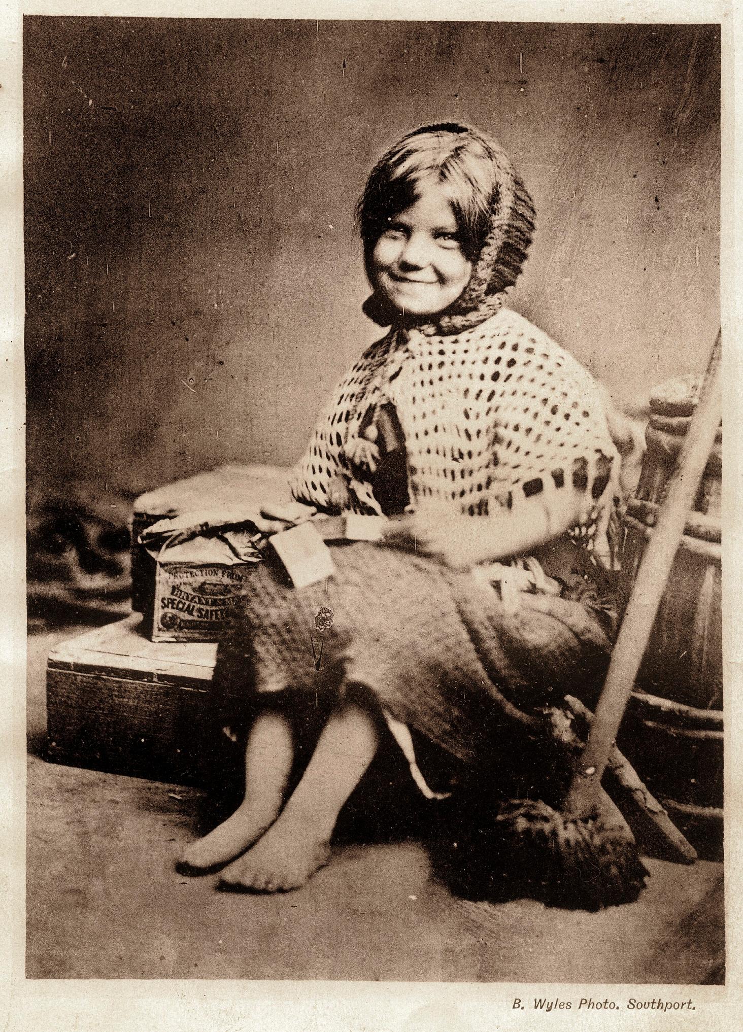Ребенок из семьи бедняков