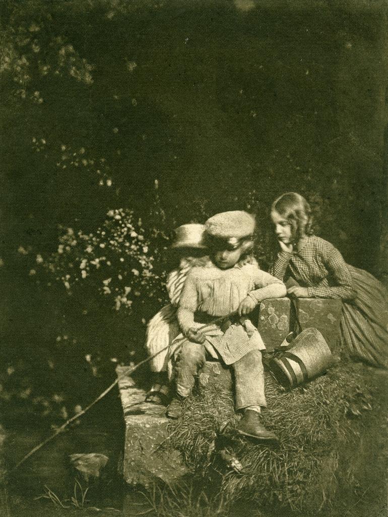 1843. Дети на рыбалке
