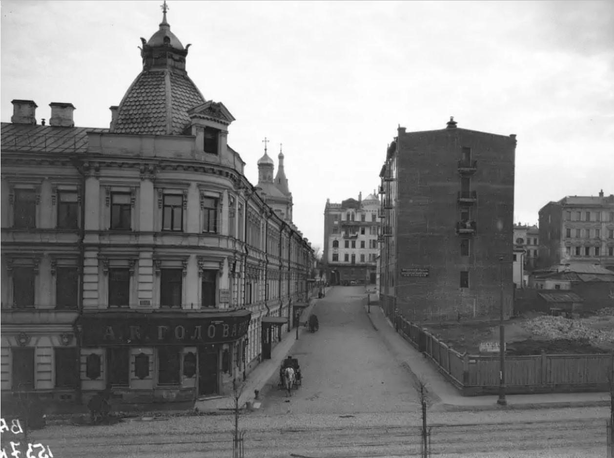 Обыденский переулок. 1903