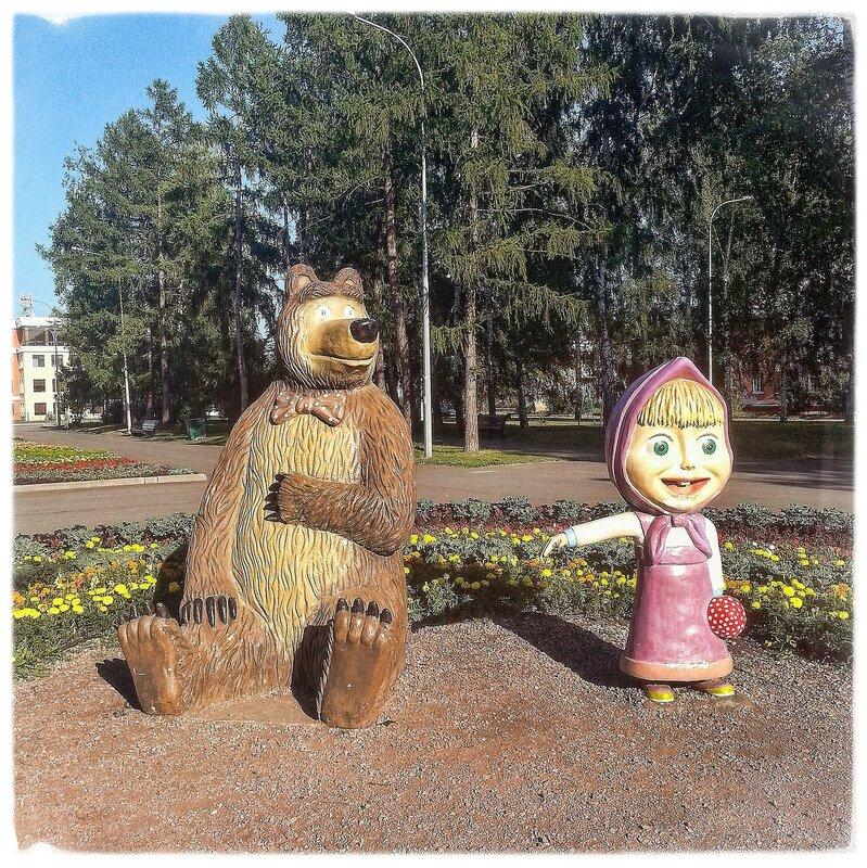 Маша и медвед