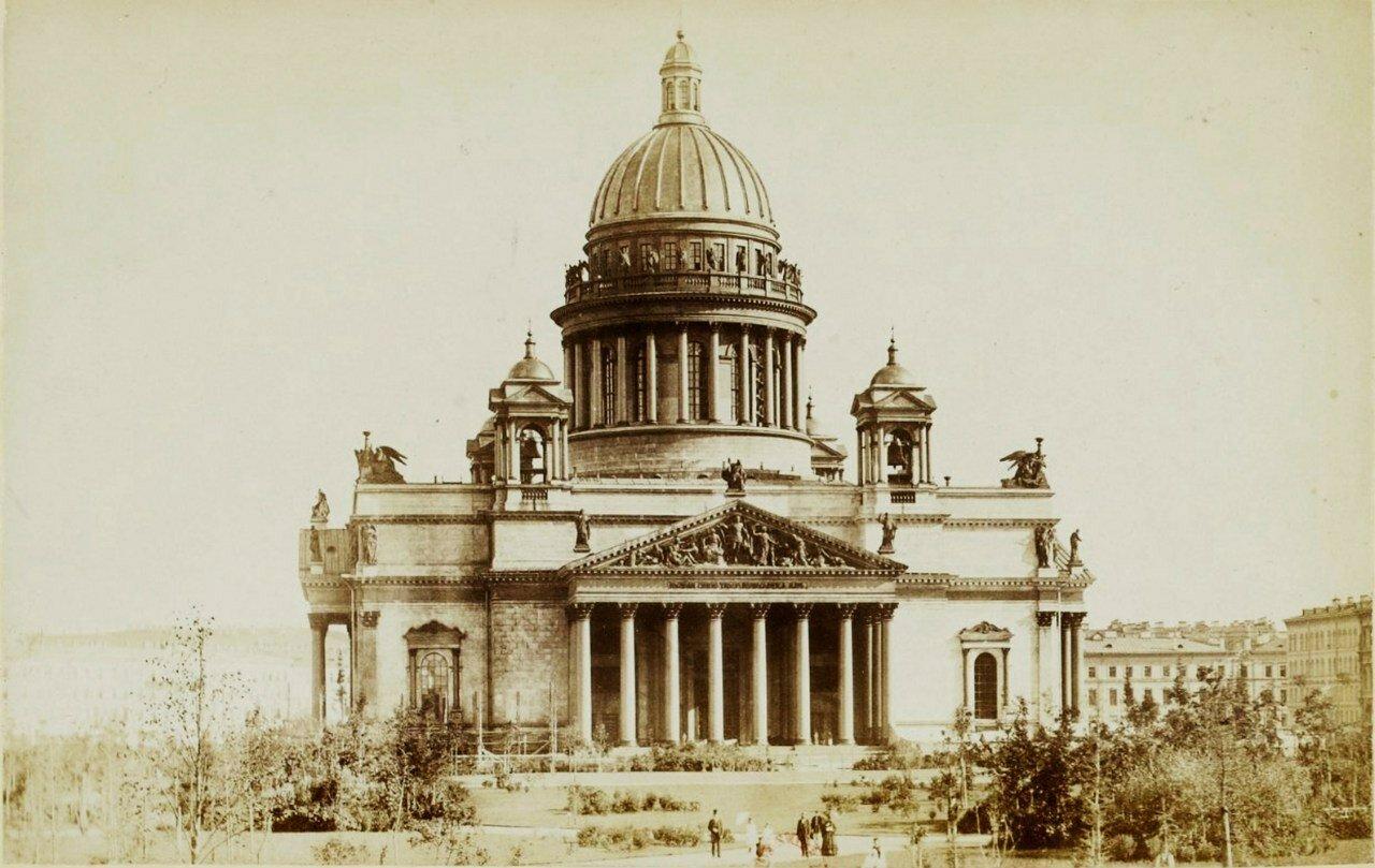 1870-е. Исаакиевский собор