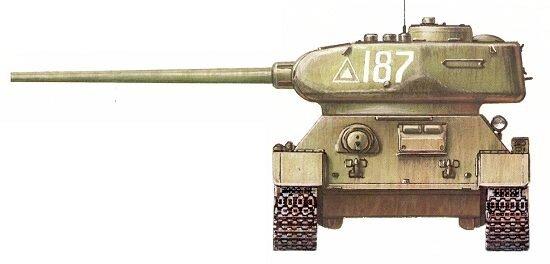 Т-34-85 Героя Советского Союза л-та Б.П.Сапункова.