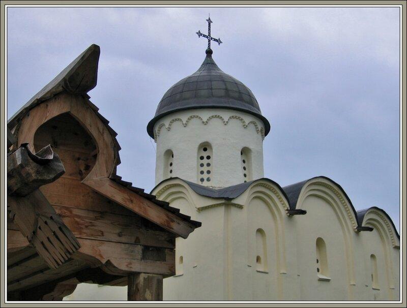 Георгиевский собор в Староладожской крепости