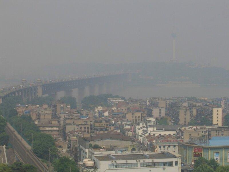 Ухань, Первый мост, Телевизионная башня