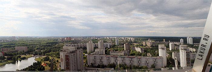 панорама минск смотровая площадка НББ