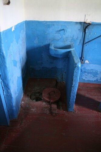 Туалет в ШИЗО