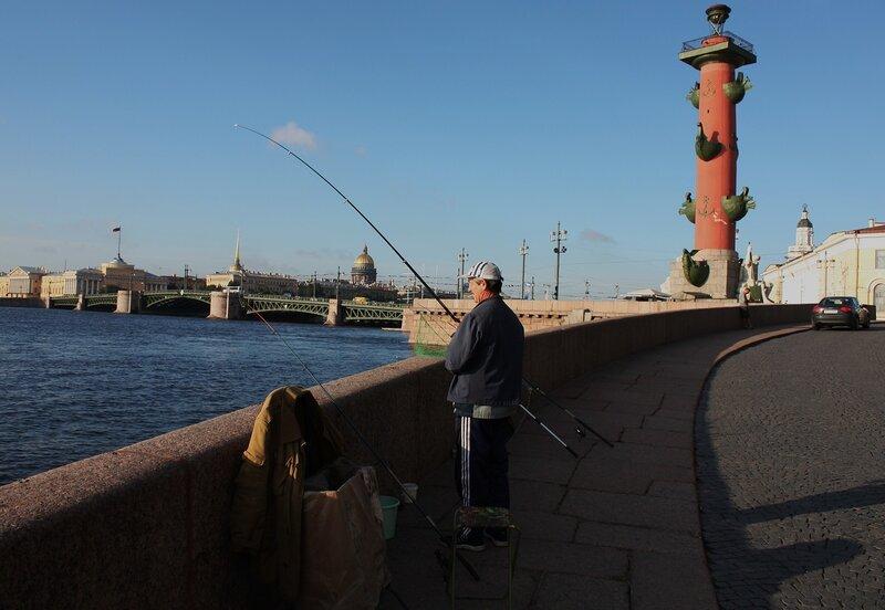 по неве с рыбацкого