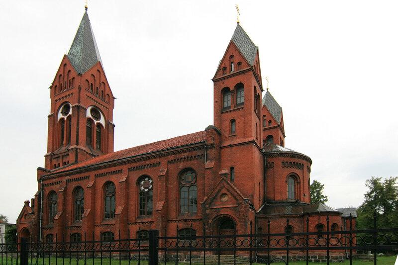 Кирха в Черняховске
