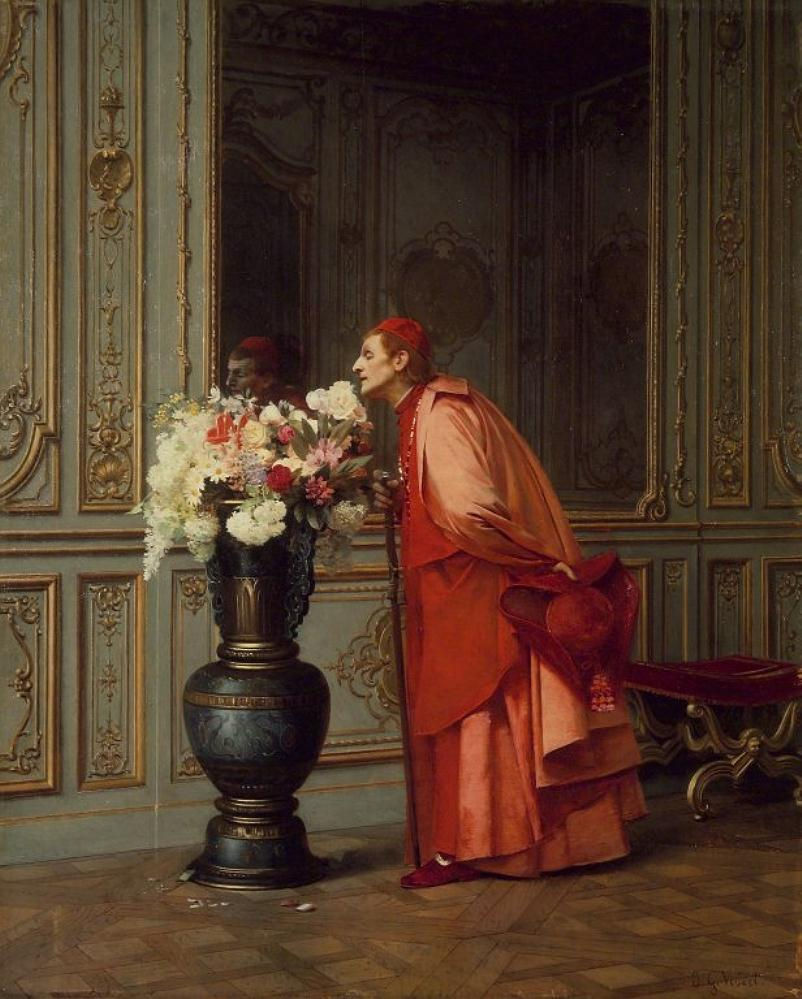 Jehan Georges Vibert,  A DifficultChoice