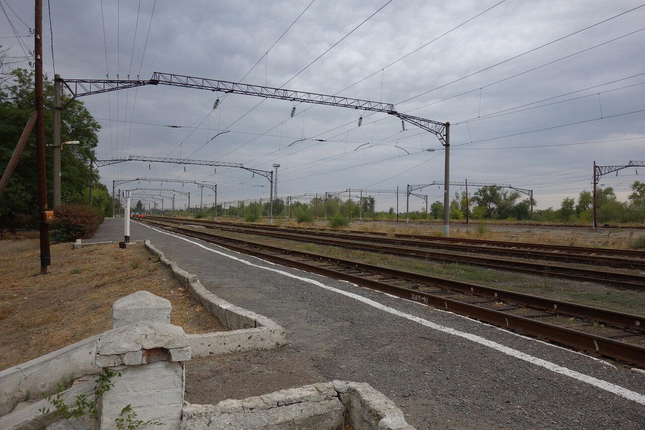 на станции Усть-Донецкая