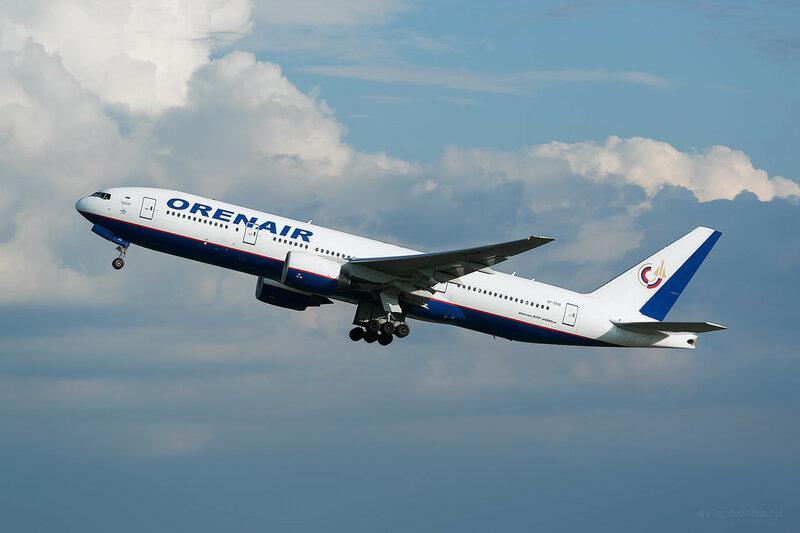 Boeing 777-2Q8/ER (VP-BHB) Orenair D809354