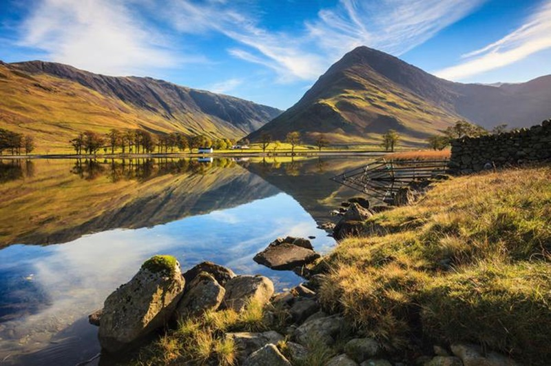 Осенние озера: 30 фотографий 0 145dd5 2e80d0d9 orig
