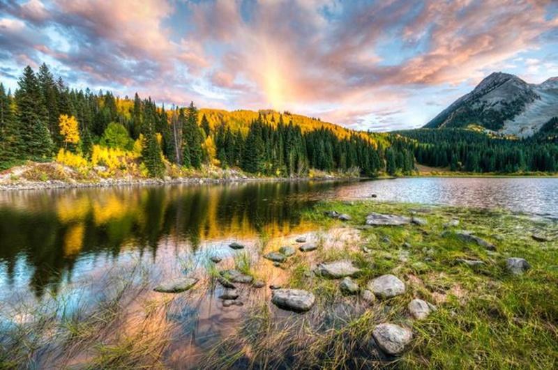 Осенние озера: 30 фотографий 0 145dd6 e386456e orig