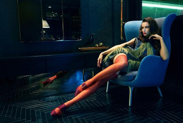Ола Подгорска (Ola Podgorska) в журнале Marie Claire Malaysia