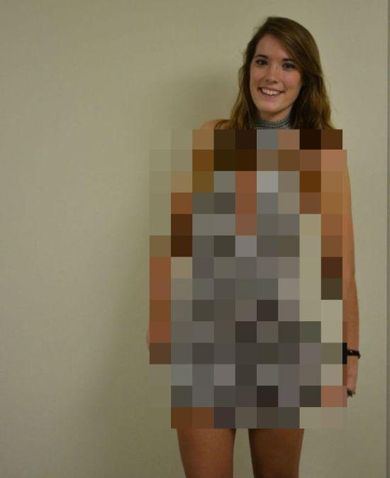 Прикольные самодельное платье