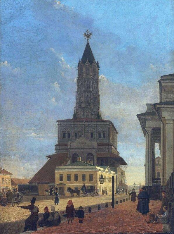 Сухаревская башня.