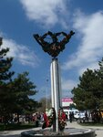 Памятник жертвам терракта (г.Минводы)