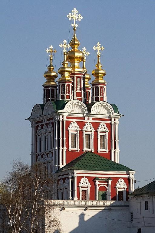 Церковь Спаса Преображения в Новодевичьем монастыре
