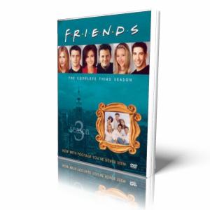 Friends  3 season / Друзья 3-й сезон [DVDRip, sub] в оригинале