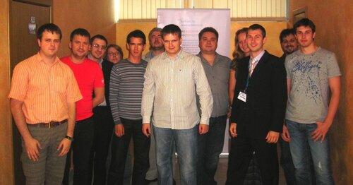 Первый семинар Димка успешно проведен