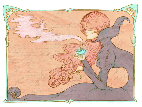 Invitation to Tea by Little Red Pumpkin