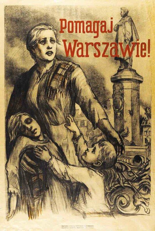Помогай Варшаве!, Польша в годы ВОВ